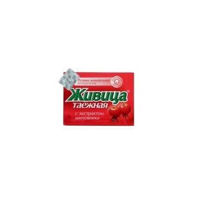 Sibiřská žvýkací pryskyřice s šípkem 5 ks