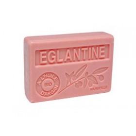 Mýdlo s bio olejem argánie - Eglantine (šípková růže) 100g