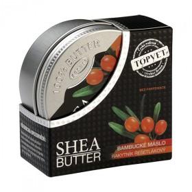 Bambucké máslo (shea butter) s rakytníkem 100 ml