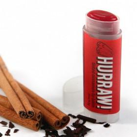 Hurraw! Balzám na rty Skořice - Tinted Cinnamon 4,3g