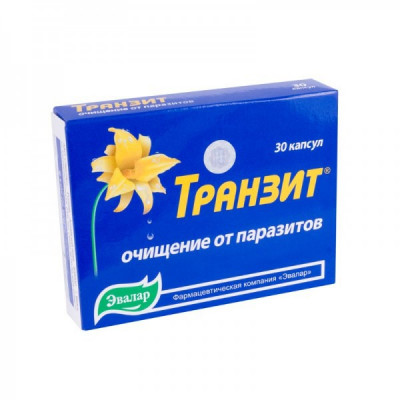 Tranzit - protiparazitická kůra - 30 kapslí
