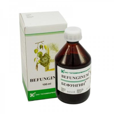 BEFUNGIN - extrakt z Čagy 100 ml