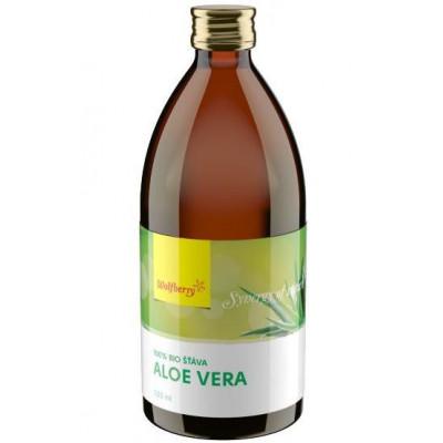 Aloe vera 100% šťáva BIO 2x 750 ml