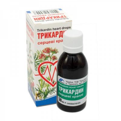 Trikardin extrakt 50 ml