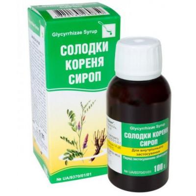 Sirup z kořene lékořice 100 ml