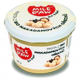 Pasta z makadamových ořechů BIO 200 g Mileraw