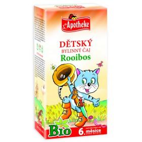 Rooibos dětský čaj BIO 20x1,5g Apotheke