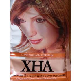 Henna íránská bezbarvá s pšeničními klíčky (zpevnění vlasů) 25 g