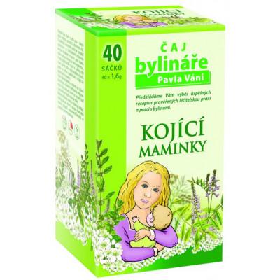 Kojící maminky - bylinný čaj 40x1.6g Pavel Váňa