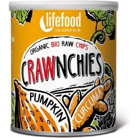 Crawnchies dýňové s kurkumou BIO RAW Lifefood