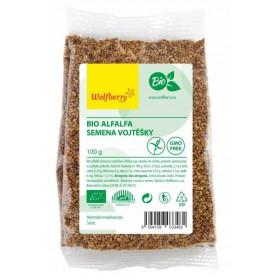 Alfalfa semínka vojtěšky BIO 100 g Wolfberry