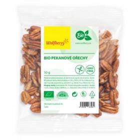 Pekanové ořechy BIO 50 g Wolfberry