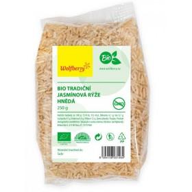 Rýže jasmínová natural BIO 250 g Wolfberry