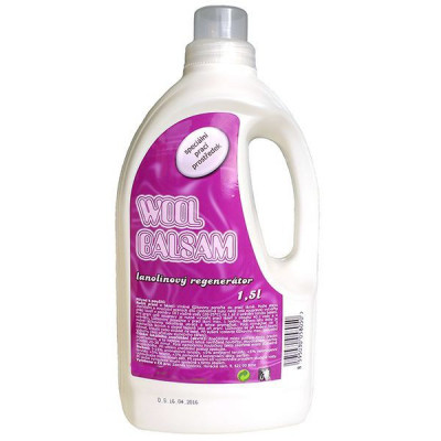 Lanolin na praní - Wool Balsam 1,5L