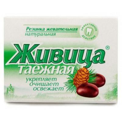 Sibiřská žvýkací pryskyřice bez přísad 5 ks