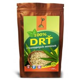 Drť z konopných semínek 250g RICH