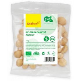 Makadamové ořechy BIO 50 g