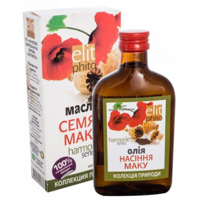 Makový olej 200 ml Elit