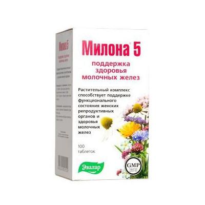 Milona 5 - pro ženy 100 tbl.