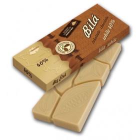 Čokoláda bílá 40% 45 g