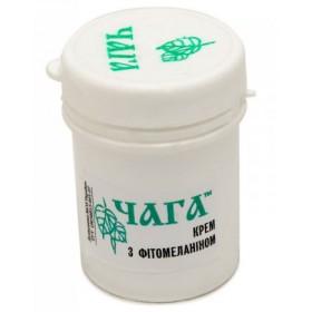 Čaga krém s fytomelaninem základní - 45 ml