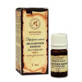 Vanilka Absolut - 100% esenciální olej 5 ml Aromatika