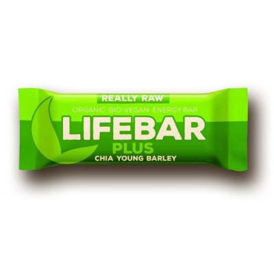Lifebar Plus chia semínka a mladý ječmen BIO RAW47 g