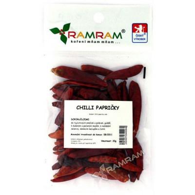 Chilli papričky 20 g