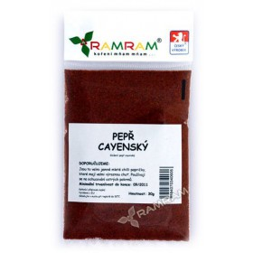 Pepř cayennský 25 g RamRam