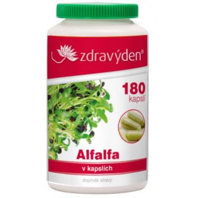 Alfalfa 180 kapslí Zdravý den