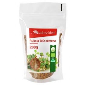 Rukola BIO - semena na klíčení 200 g Zdravý den