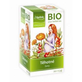Těhotné ženy - bylinný čaj BIO 20 x 1,5 g Apotheke