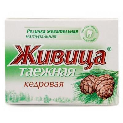 Sibiřská žvýkací pryskyřice z cedru 5 ks