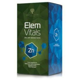 Zinek ElemVitals se sibiřskými bylinami 60 kapslí