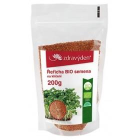 Řeřicha BIO - semena na klíčení 200g Zdravý den