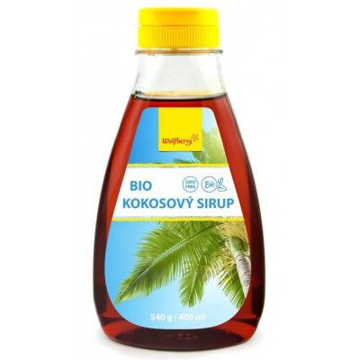 kokosový sirup BIO 400 ml Wolfberry