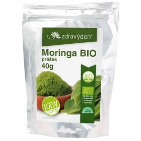 Moringa BIO RAW prášek 40 g Zdravý den