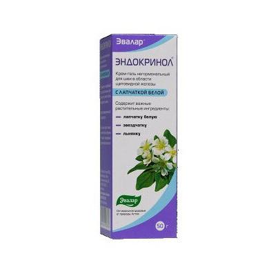 Endokrinol krém na štítnou žlázu 50 ml
