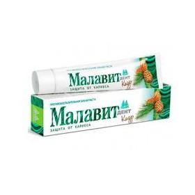 Zubní pasta Malavit Dent - Cedr a Jalovec 75 ml
