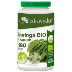 Moringa BIO 180 kapslí Zdravý den