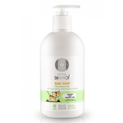 Dětské mýdlo pro každý den s přírodními výtažky z břízy a dvouzubce 500 ml Natura Siberica