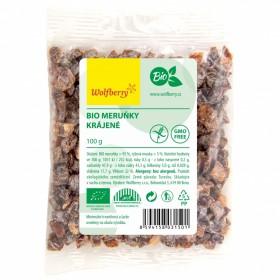 Meruňky sušené krájené BIO 100 g