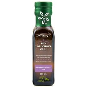 Lopuchový olej BIO macerát 100ml Wolfberry