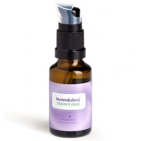Levandulový tělový olej Naturinka