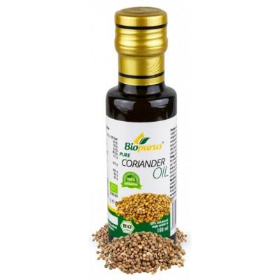 Koriandrový olej 100% BIO 100 ml Biopurus