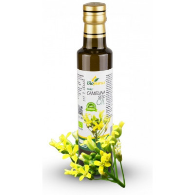 Lničkový olej BIO 250 ml Biopurus
