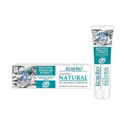 Zubní pasta NATURAL s mořskými minerály a spirulinou 65ml Rose Rio