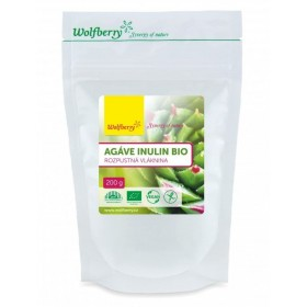 Inulin z agáve BIO 200 g Wolfberry