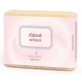 Růžové mýdlo 85 g Naturinka