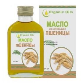 Olej z pšeničných klíčků Organic Oils